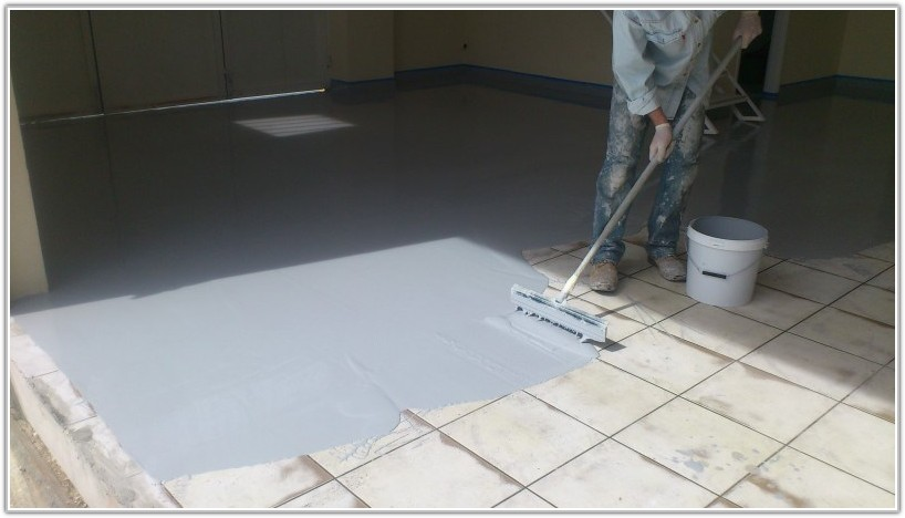 Epoxy Floor Paint Over Tile