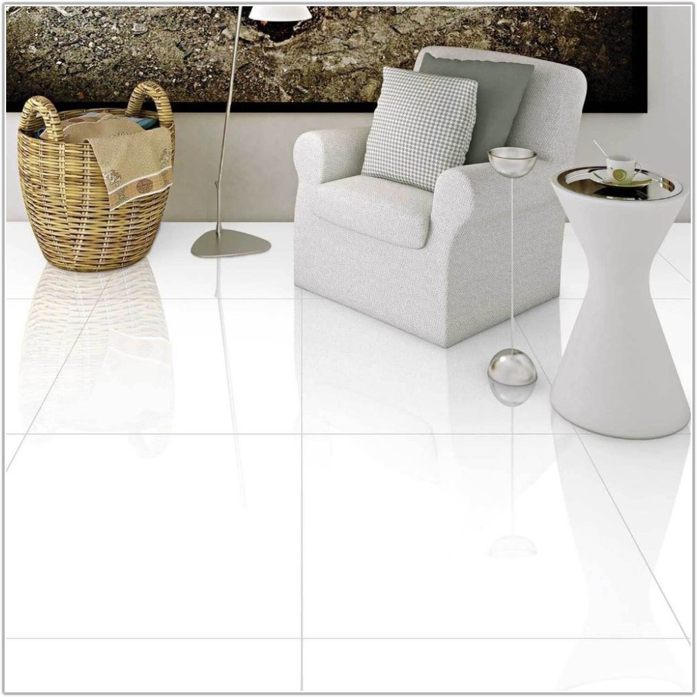 Extreme White Polished Porcelain Floor Tile