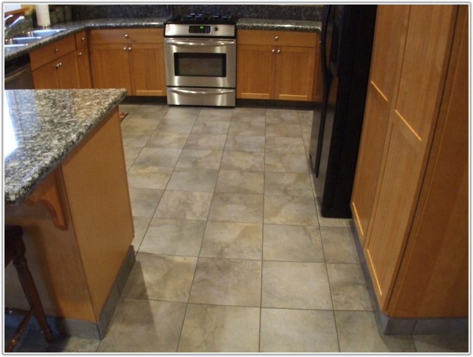 Floor Tile Patterns For Small Kitchen