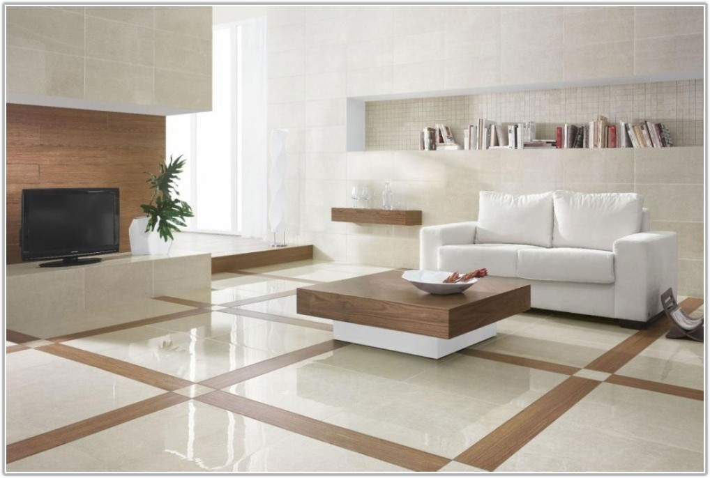 Floor Tiles Design In Living Room