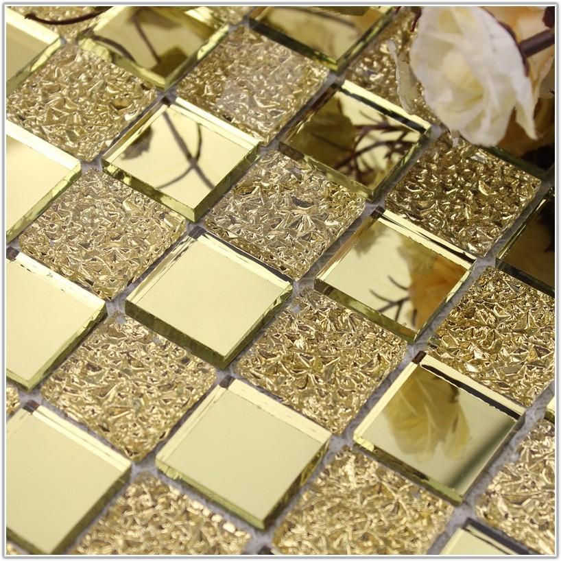 Glass Mirror Mosaic Tile Backsplash