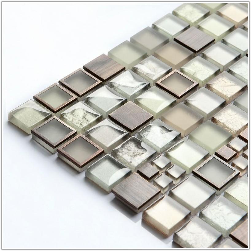 Glass Mosaic Tile For Bathroom Floor