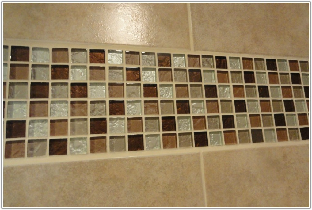 Glass Mosaic Tiles Bathroom Wall