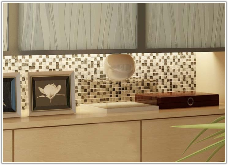 Glass Mosaic Wall Tiles Kitchen