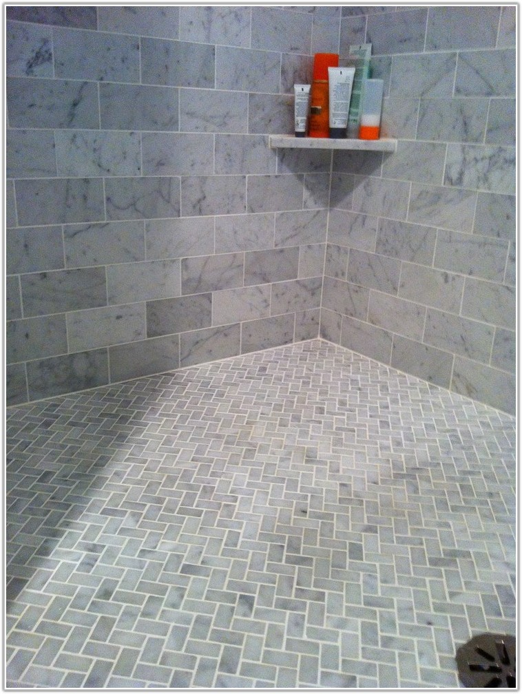 Glass Tile For Bathroom Floor