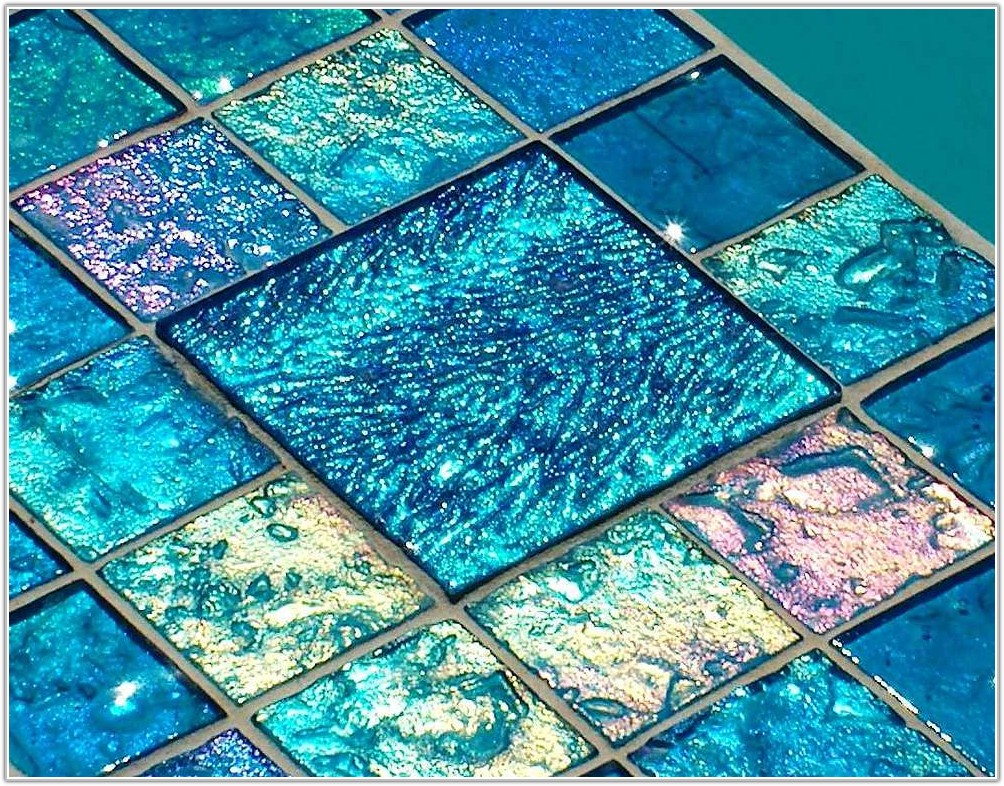 Glass Tile For Pool Steps