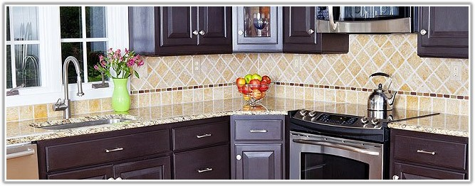 Glass Tile Kitchen Backsplash Ideas