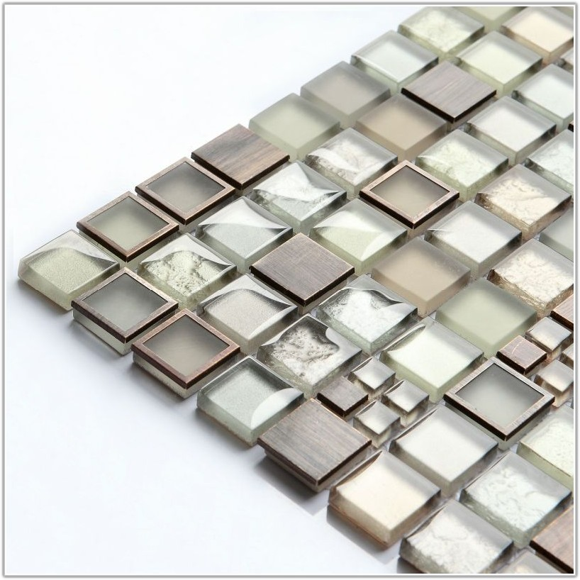 Glass Tiles For Bathroom Floor