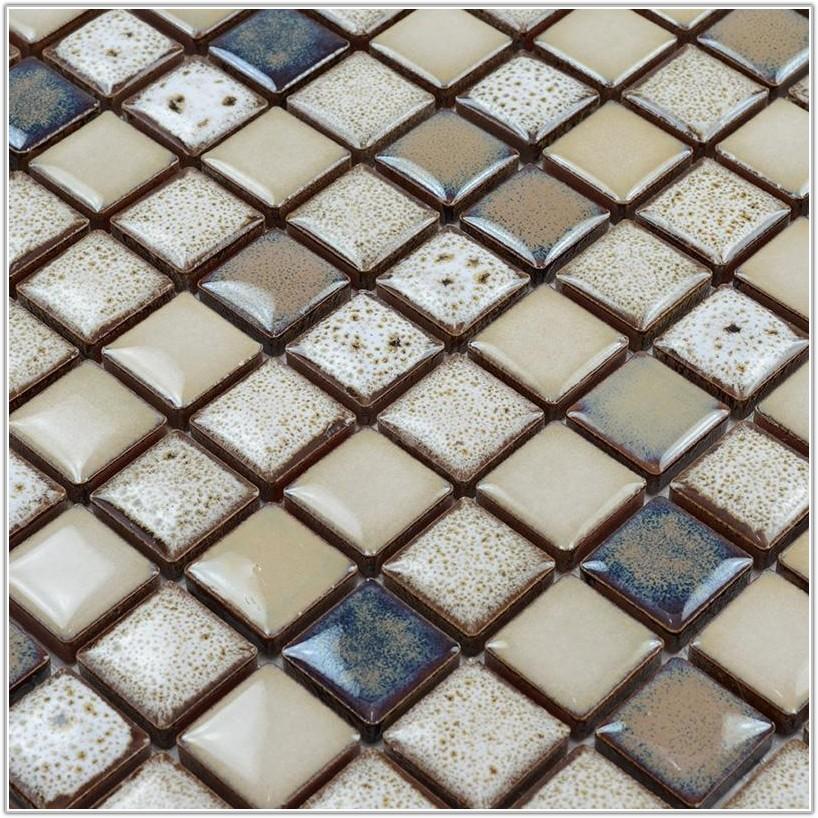 Glazed Porcelain Mosaic Floor Tile