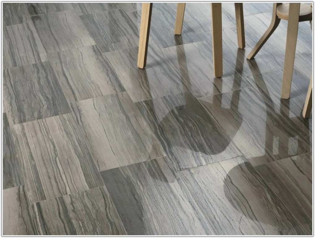 Gray Ceramic Tile That Looks Like Wood