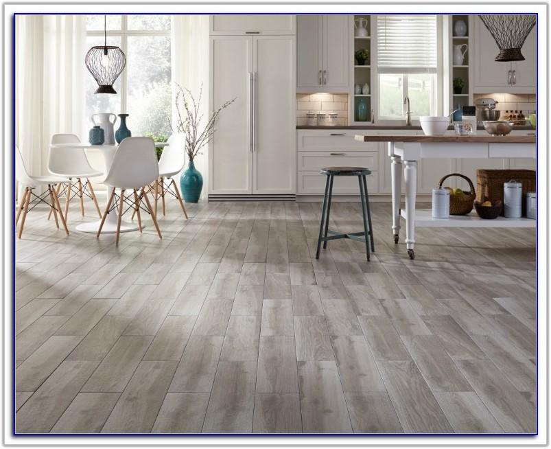 Gray Floor Tile That Looks Like Wood