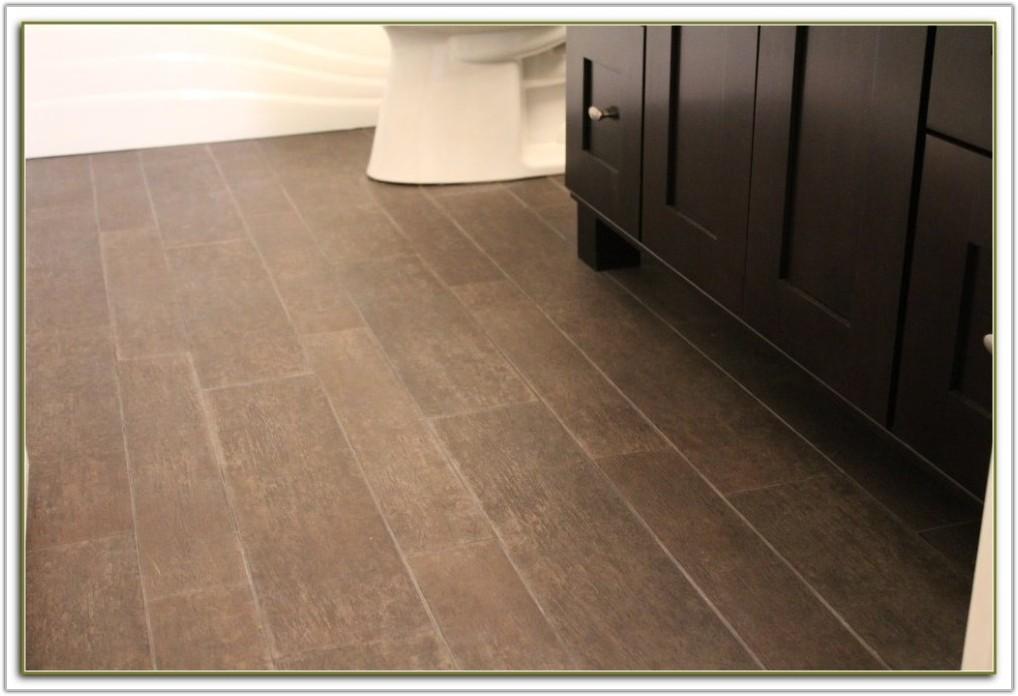 Gray Tile Looks Like Wood
