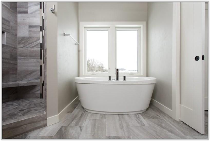 Gray Wood Look Porcelain Tile