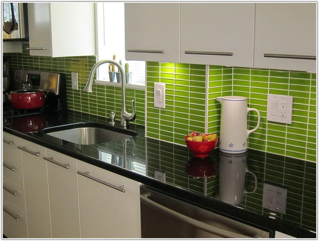 Green Glass Tile Backsplash Ideas