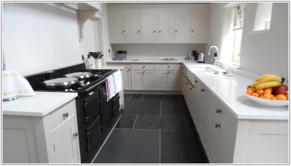Grey And White Kitchen Floor Tiles