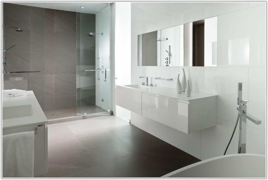 Grey And White Tile Bathroom Ideas