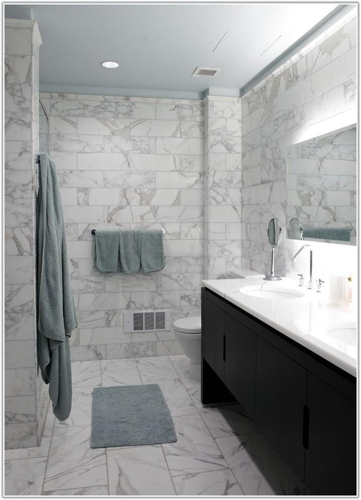Grey Blue Bathroom Wall Tiles