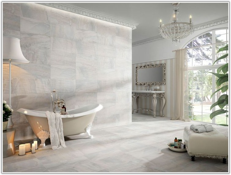 Grey Marble Effect Porcelain Tiles