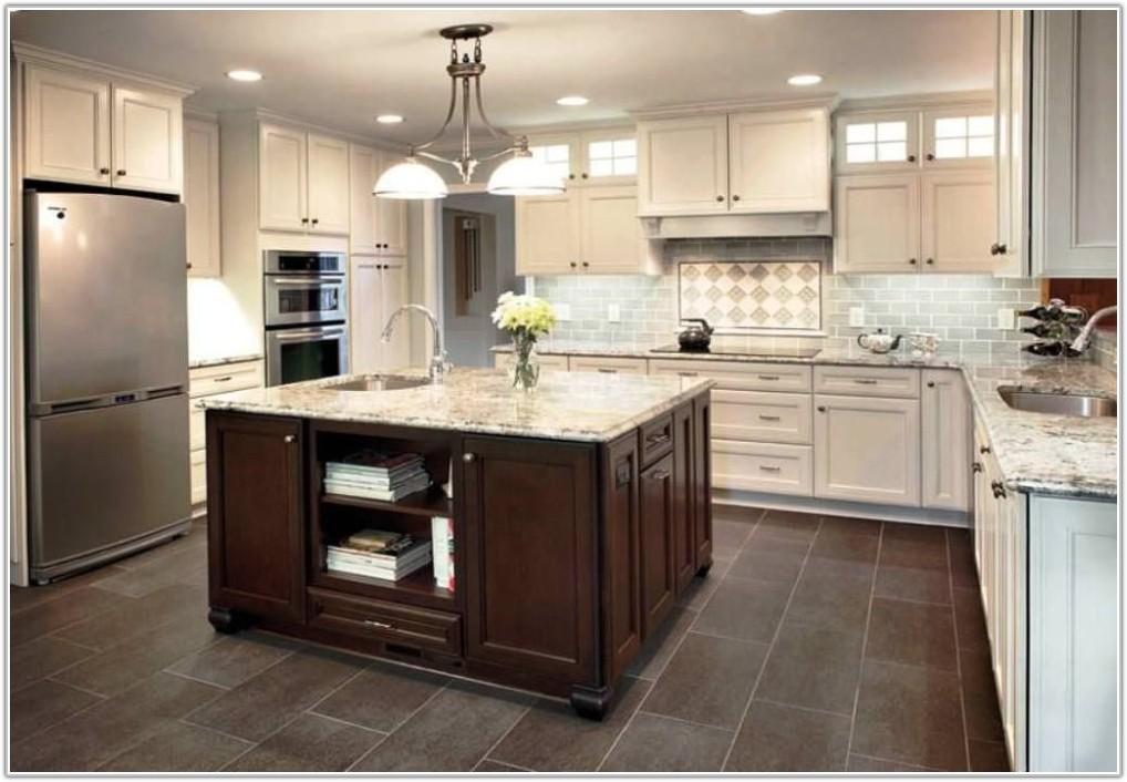 Grey Porcelain Kitchen Floor Tiles