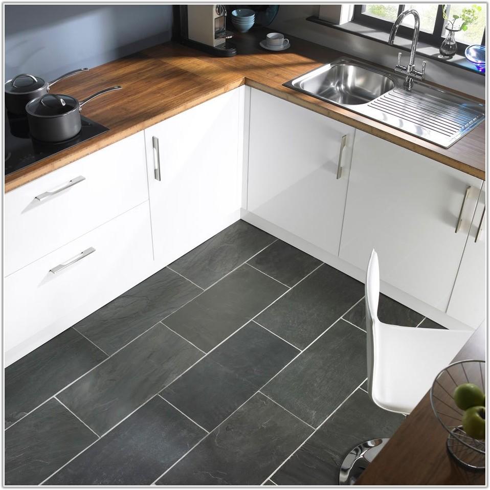 Grey Slate Kitchen Floor Tiles