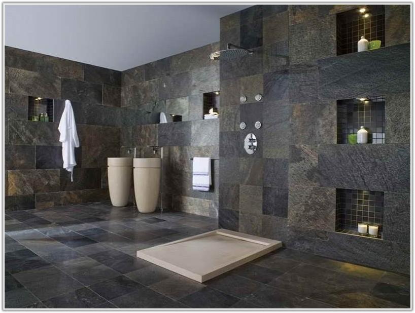 Grey Slate Tiles For Bathroom