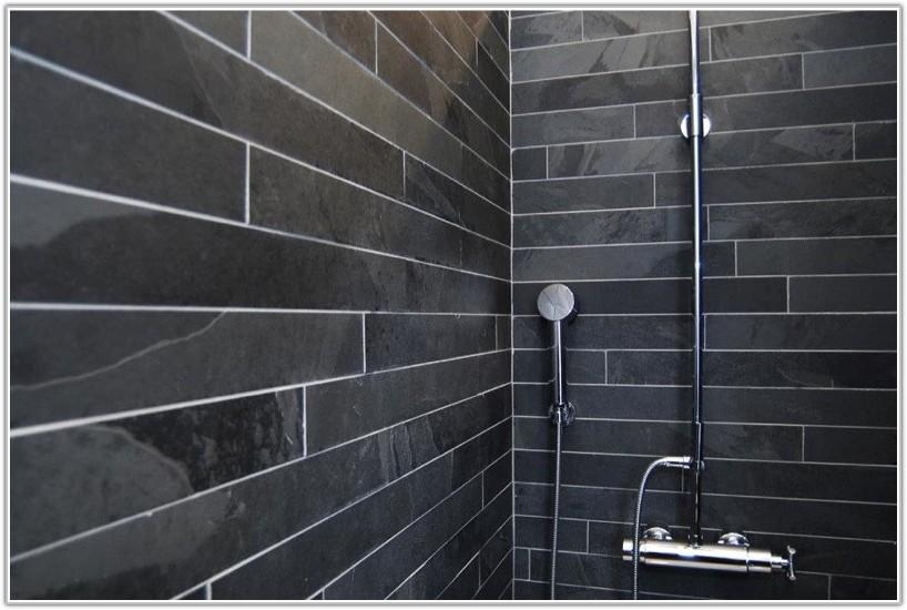 Grey Slate Wall Tiles For Bathroom