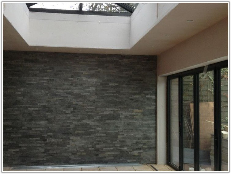 Grey Split Face Slate Wall Tiles