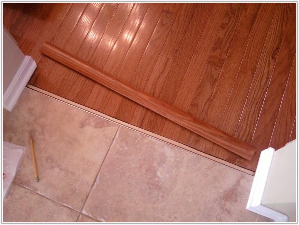 Hardwood Floor And Tile Floor Transition