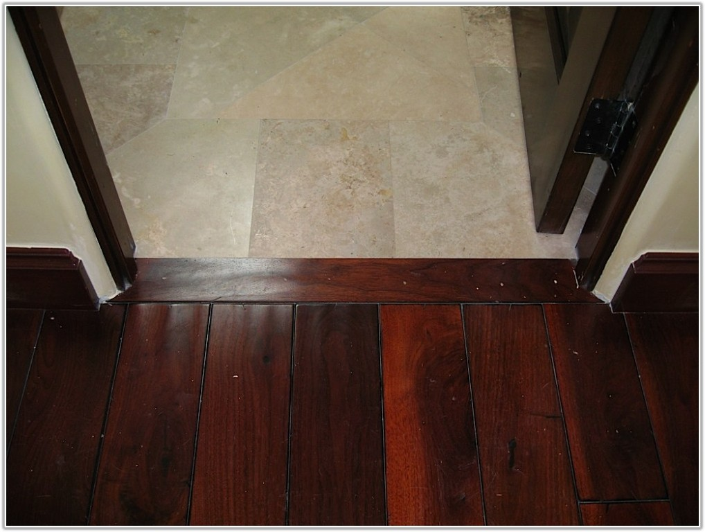 Hardwood Floor Ceramic Tile Transition