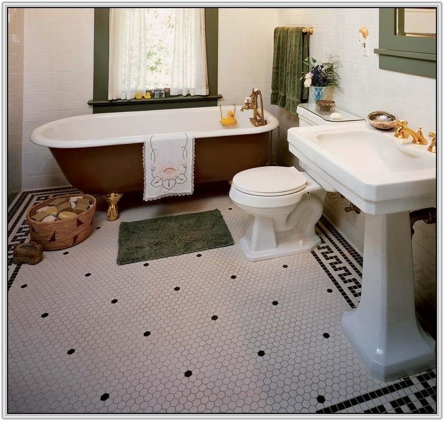 Hexagon Floor Tile Bathroom Ideas
