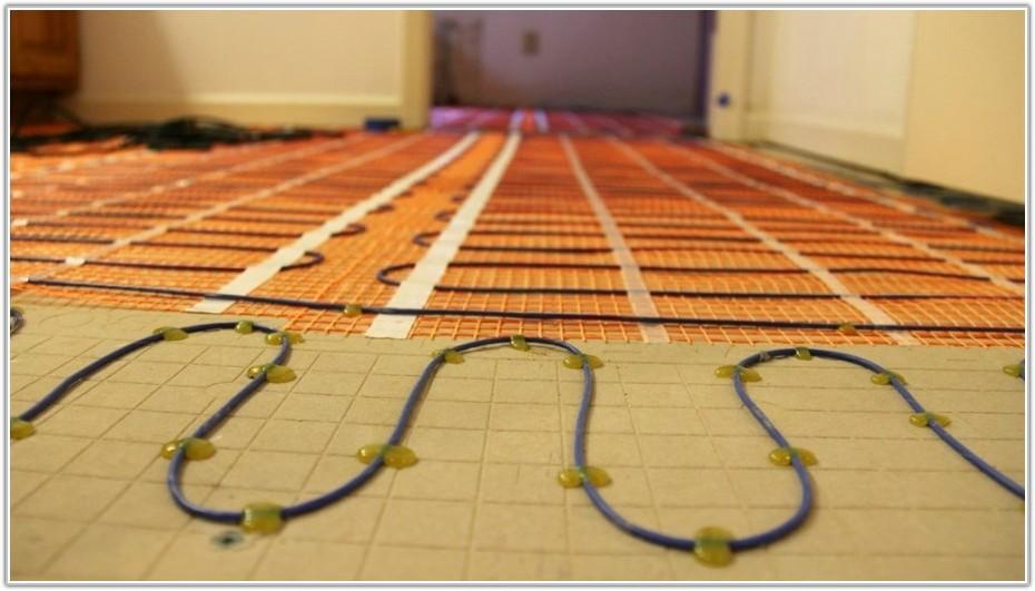 Installing In Floor Heating Under Tile