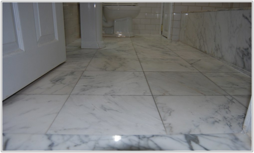 Installing Marble Floor Tiles Bathroom