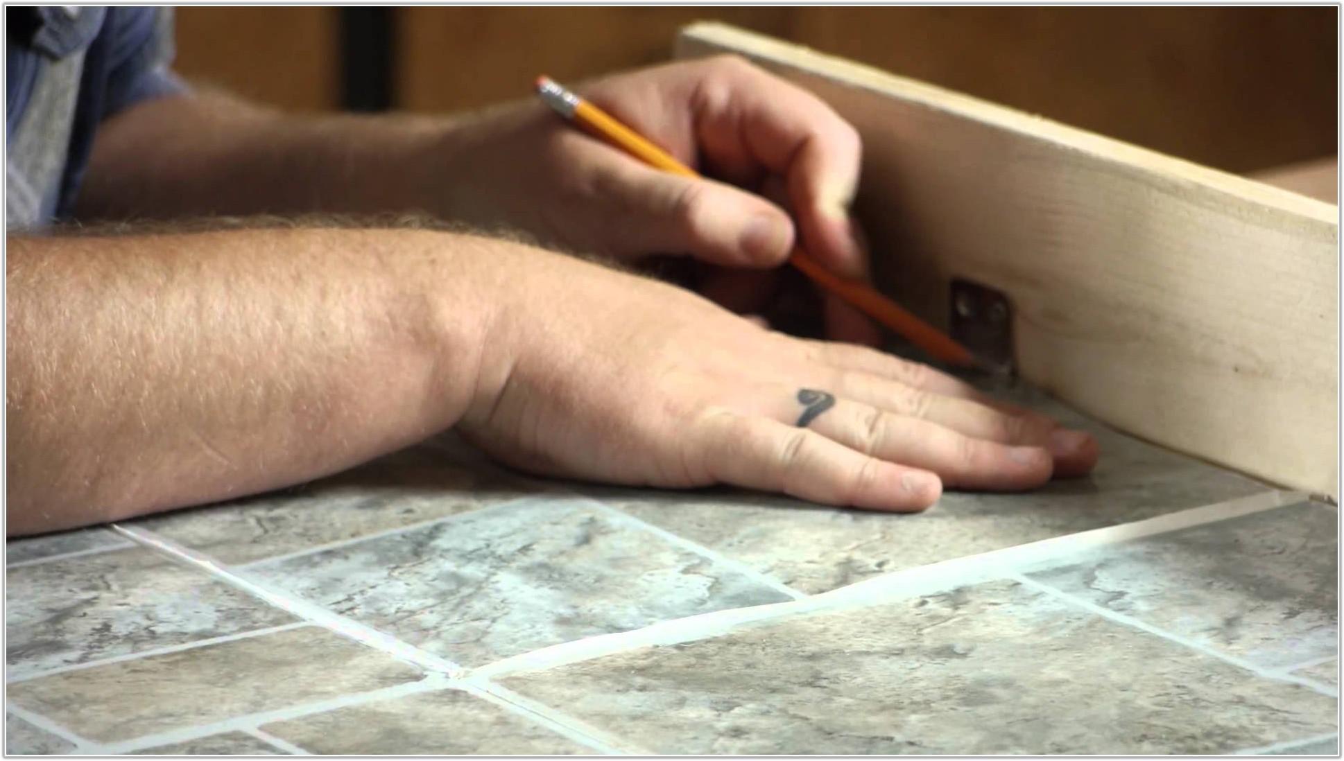 Installing Self Adhesive Floor Tiles