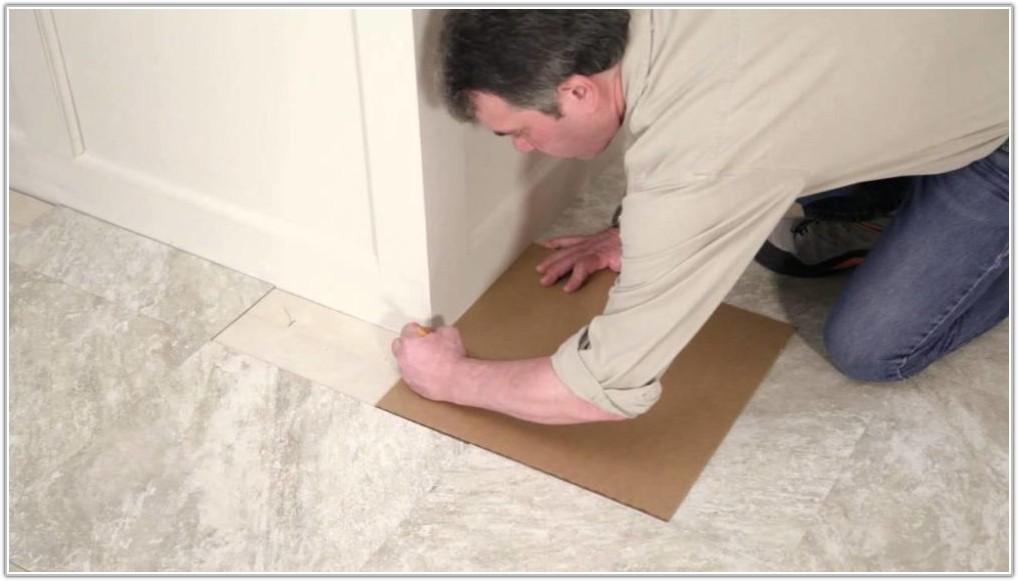 Installing Self Adhesive Vinyl Floor Tiles
