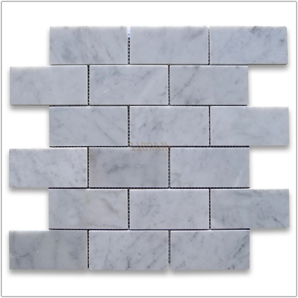 Italian White Carrara Marble Tile
