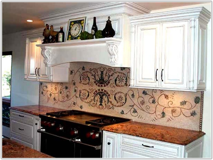 Kitchen Backsplash Mosaic Tile Mural