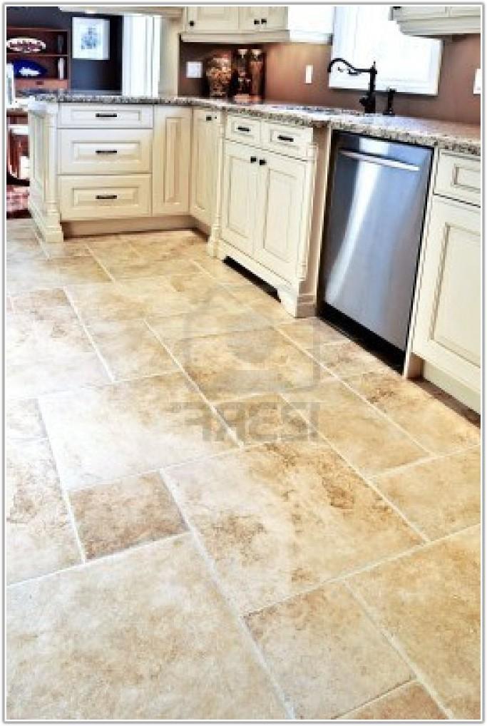 Kitchen Ceramic Floor Tile Designs