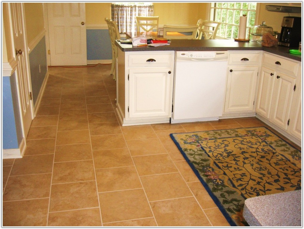 Kitchen Floor Tiles Design Ideas