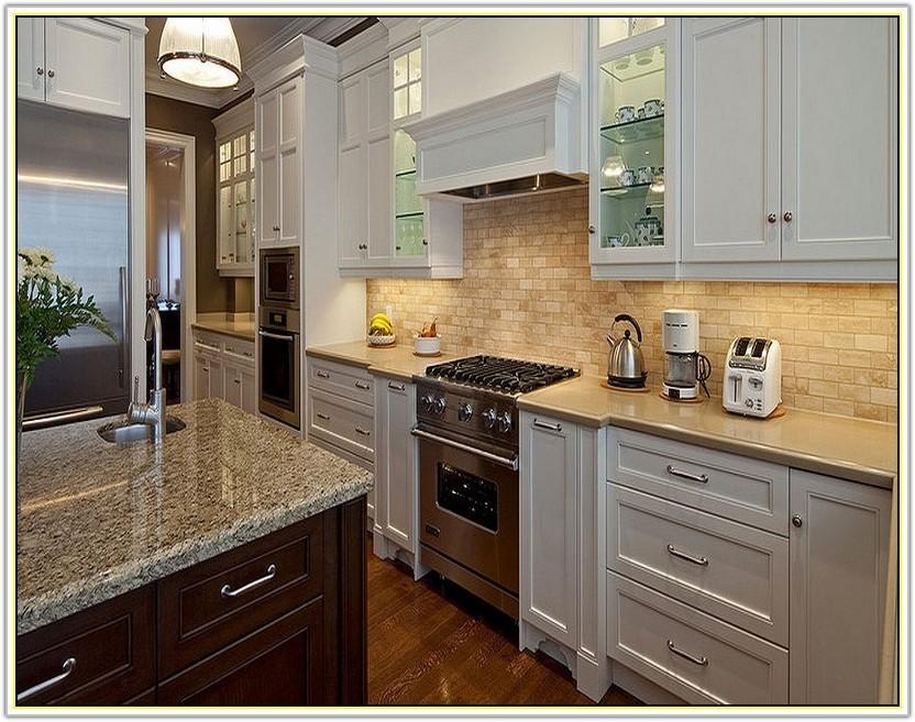 Kitchen Tile Backsplash Ideas White Cabinets