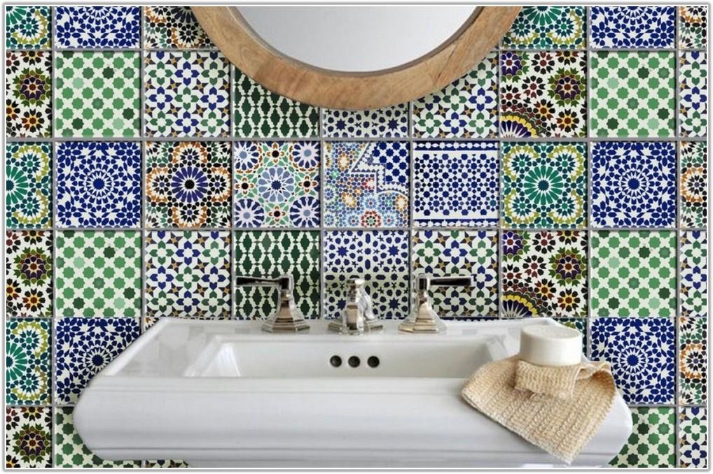 Kitchen Tile Stickers Decoration Retro Transfers