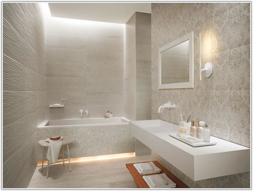 Large Bathroom Wall Floor Tiles