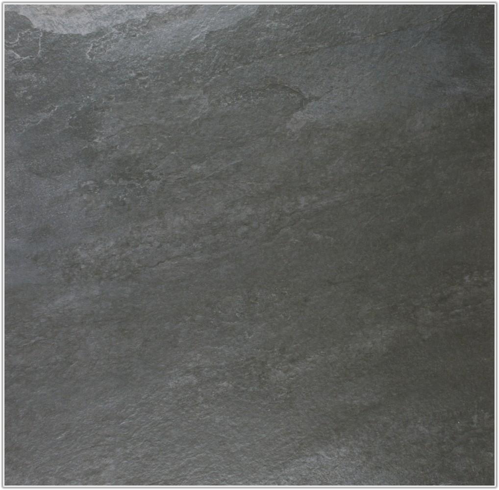 Large Black Slate Floor Tiles