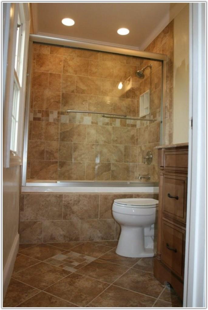 Large Blue Bathroom Wall Tiles
