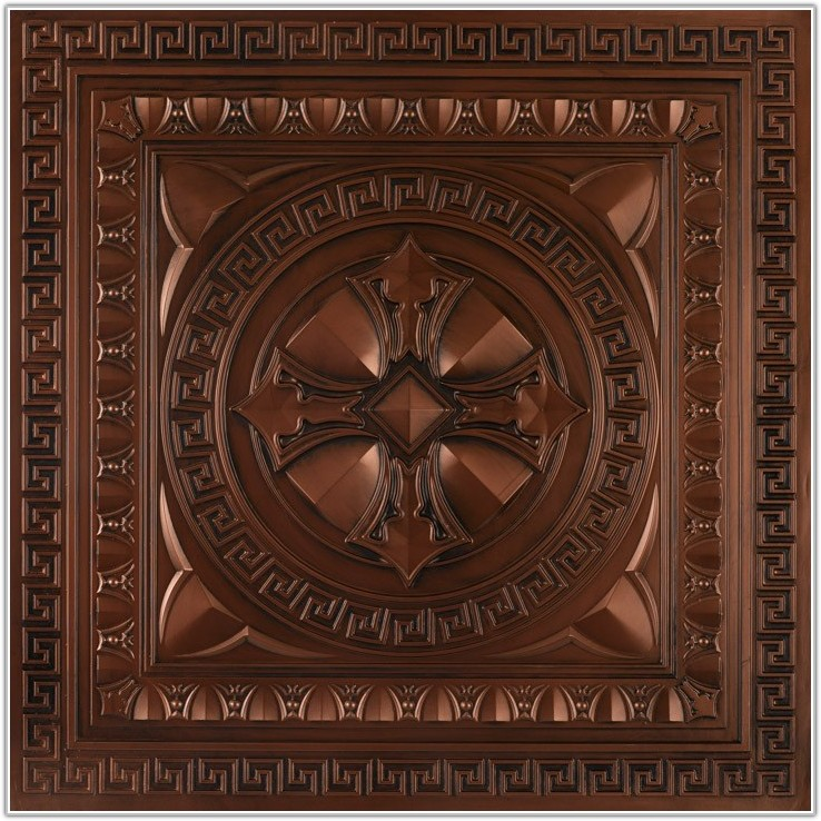Large Faux Tin Ceiling Tiles