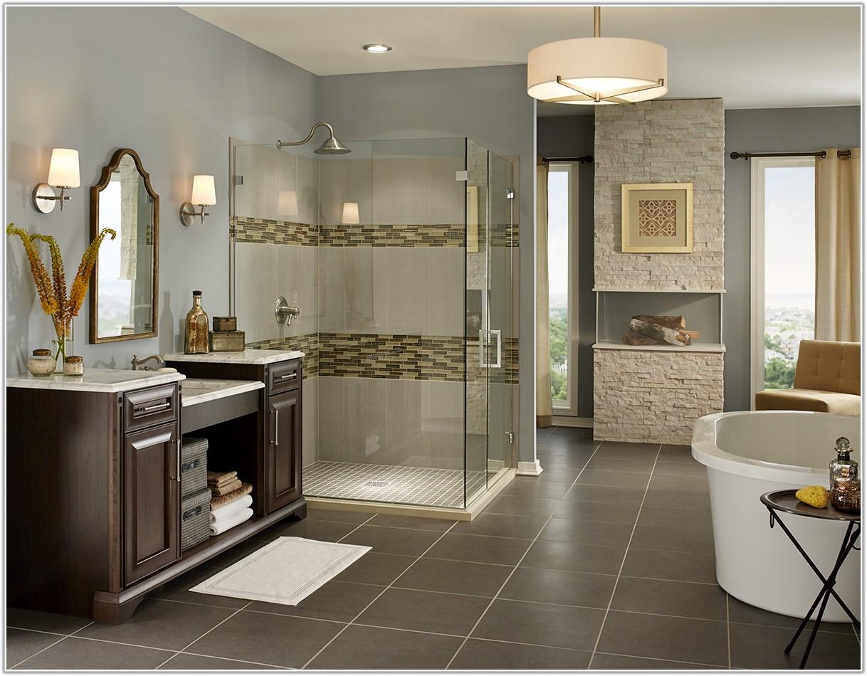 Large Polished Concrete Floor Tiles