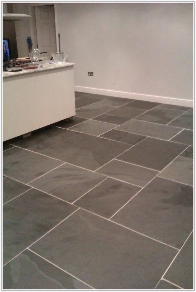 Large Slate Kitchen Floor Tiles