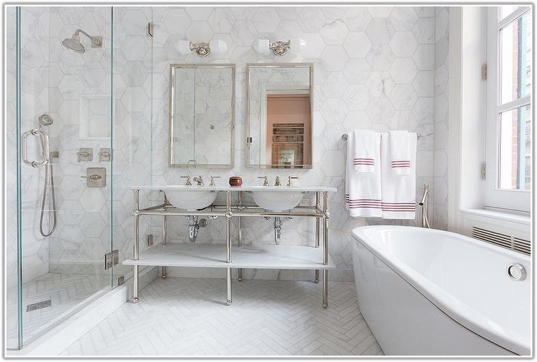 Large White Marble Wall Tiles