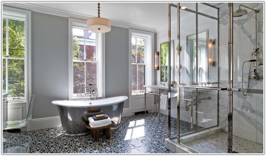 Latest Bathroom Tile Trends 2015