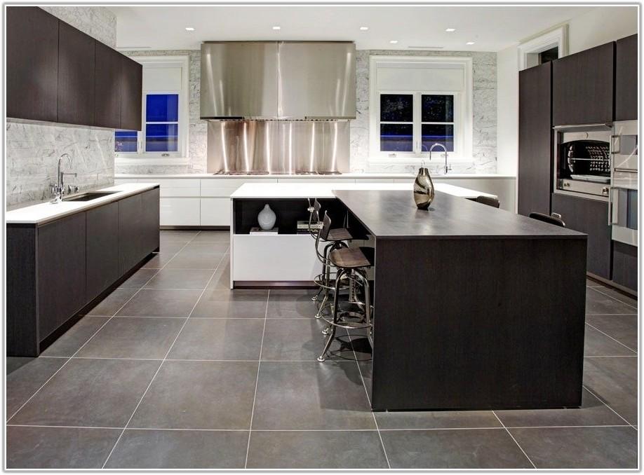 Light Gray Kitchen Floor Tile