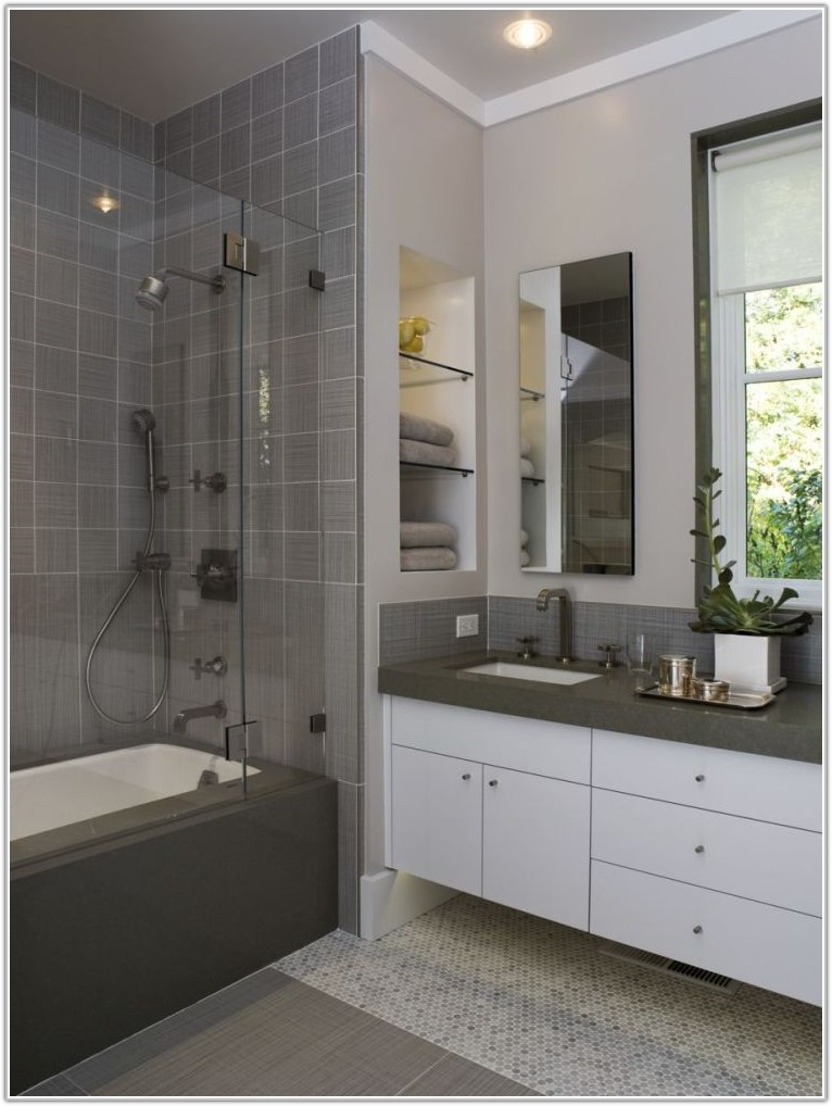 Light Grey Bathroom Tiles Designs